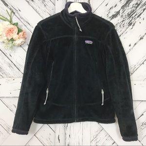 Patagonia Regulator fleece size M black and purple